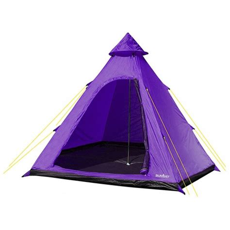 Summit tent Hydrahalt 4-persoons 275 x 300 x 205 cm paars