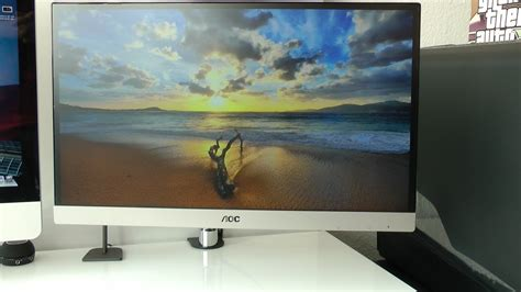 AOC I2369VM IPS LED Monitor Unboxing And First Look - YouTube