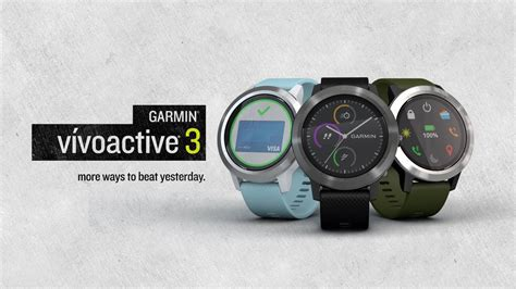 Garmin vívoactive 3: The Smartwatch That Lets You Pay and