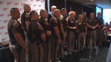Four OHP Troopers Receive 'Trooper Of The Year' Honors