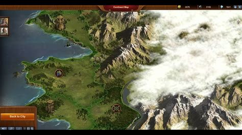 Forge Of Empires Continent Map - YouTube