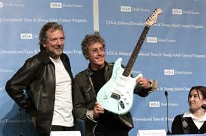 Band members of The Who and UCLA come together to create