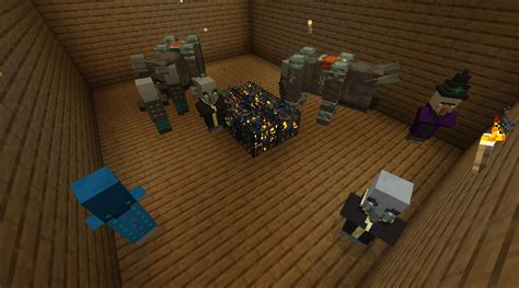 [MC-140710] Pillagers require skylight to spawn from